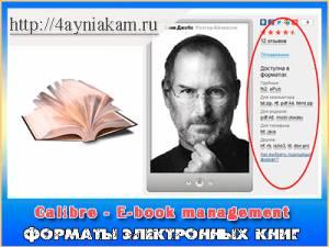 формат электронных книг для Ipad - фото 6