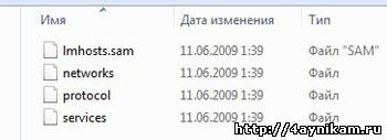 Скрытый файл hosts